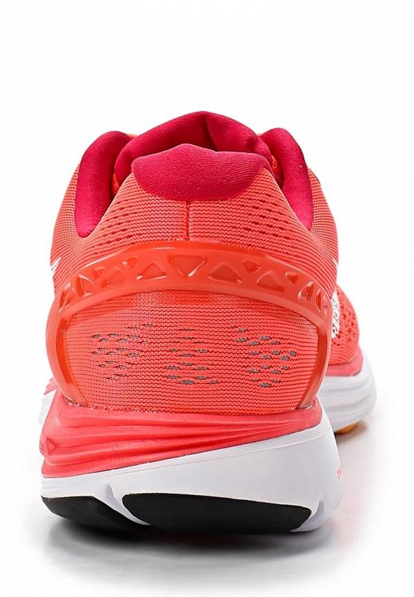 фото Кроссовки женские Nike NI464AWAHH75, красные