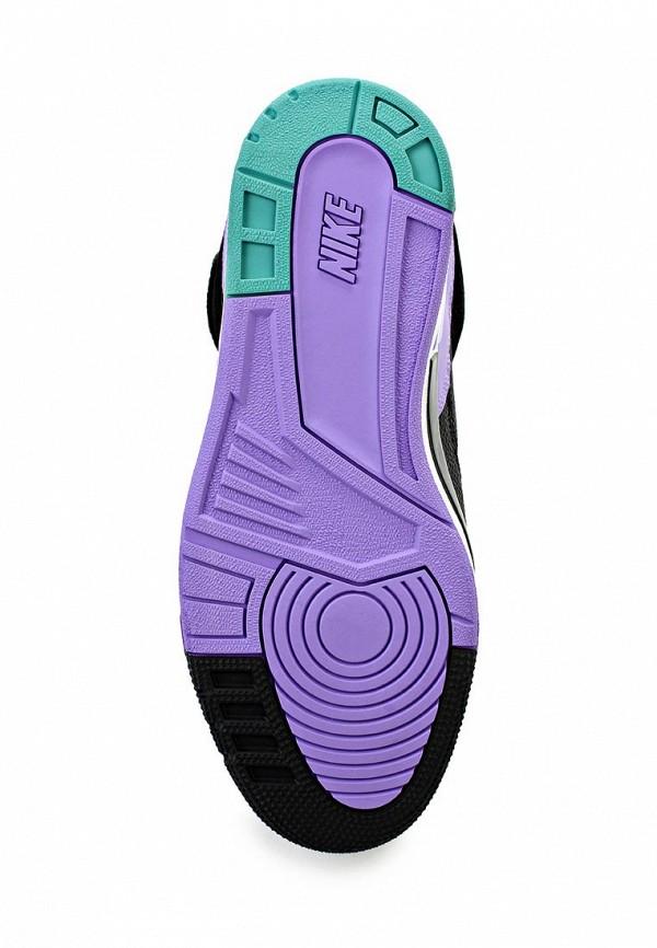 фото Кеды женские на танкетке Nike NI464AWAHH83, черные