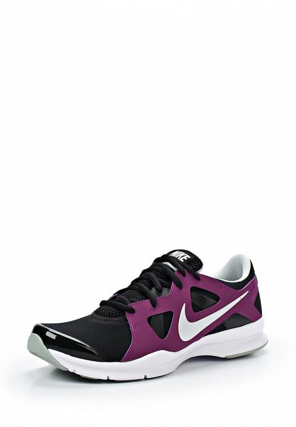 фото Кроссовки женские Nike NI464AWAHH93, черные с сиреневым