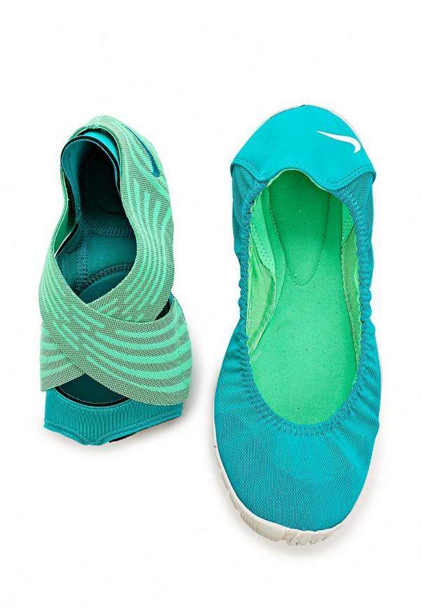 фото Балетки женские Nike NI464AWAHI42, бирюзовые