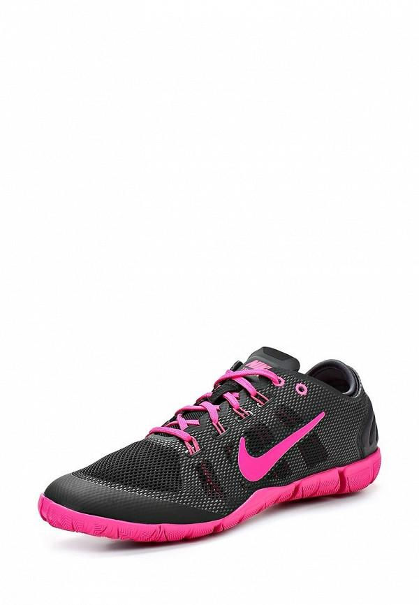 фото Кроссовки женские Nike NI464AWBJX30, черные с розовым