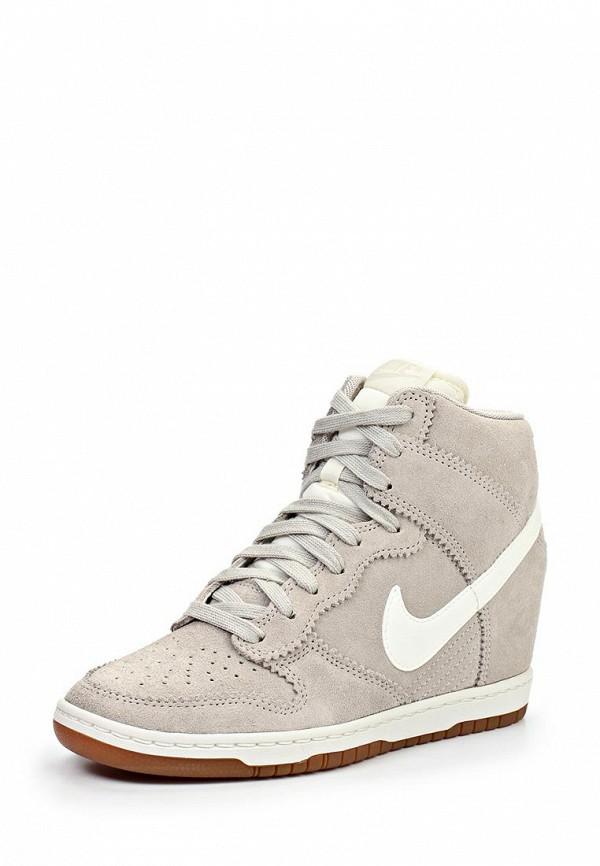 Кеды на танкетке Nike