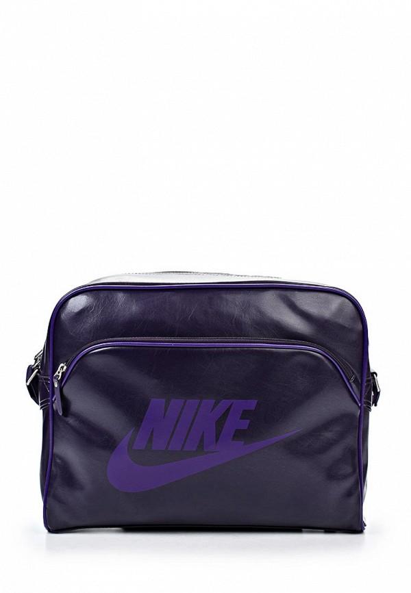 Сумка спортивная Сумка спортивная Nike Nike BA4271 Сумка спортивная Nike / Найк женская.  Цвет: синий.