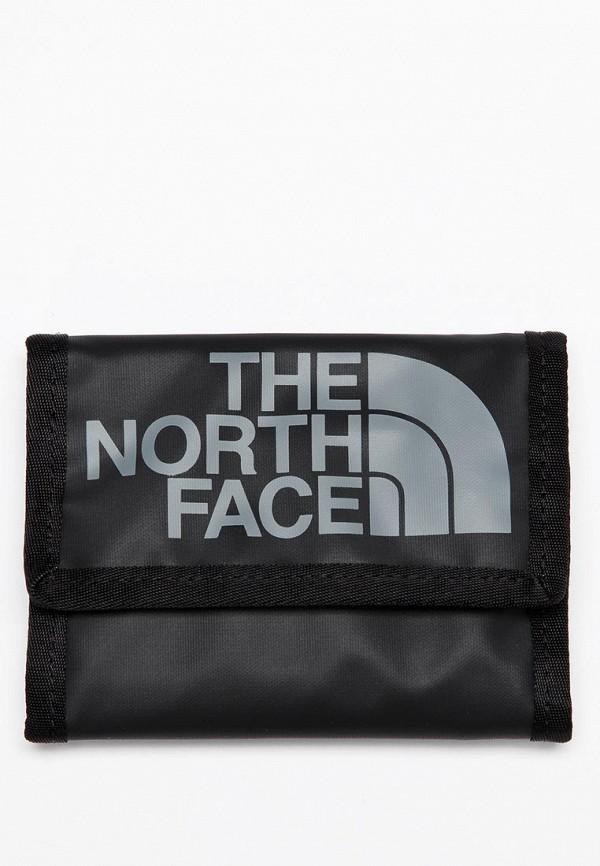 Кошелек North Face NO732BUBL846. Цвет: черный