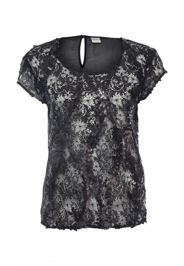 Блуза Object. Цвет: черный