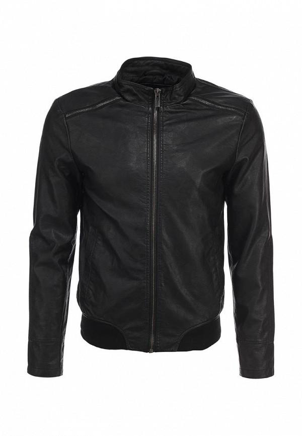 Кожаная куртка oodji (Оджи) 1L511017M/34329N/2900W