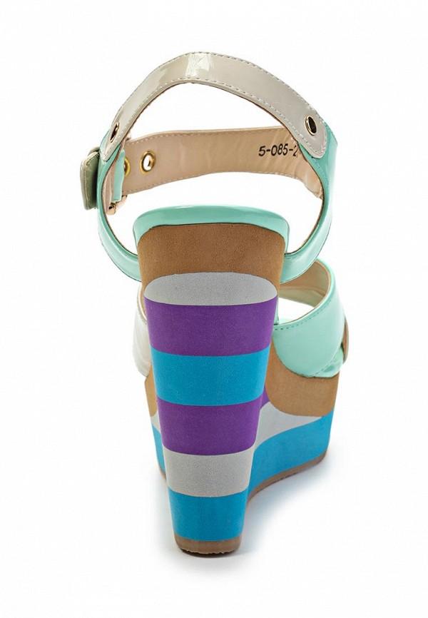 фото Босоножки на платформе Orma OR433AWGH983, разноцветные