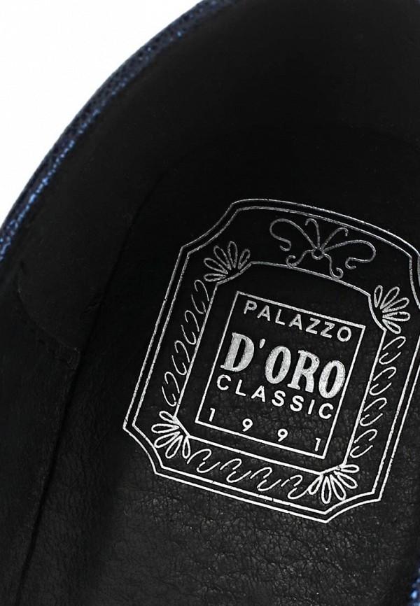 фото Лоферы женские Palazzo D'oro PA001AWBAI16, темно-синие