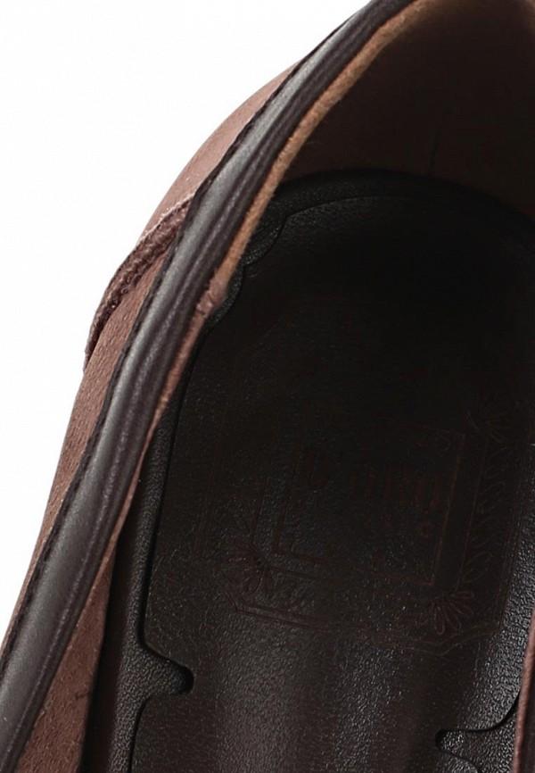 фото Туфли-лоферы на каблуке Palazzo D'oro PA001AWBAI98, коричневые