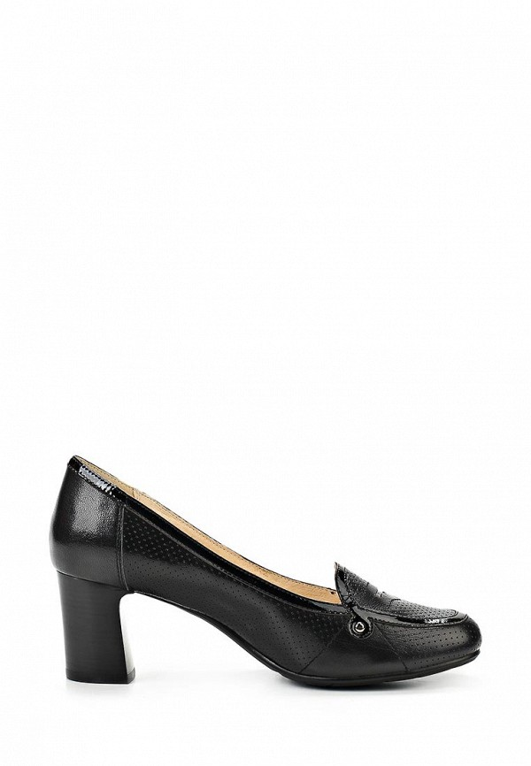 Туфли на толстом каблуке с ремешком купить