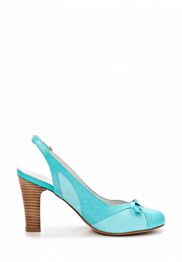 фото Туфли на толстом каблуке без задников Palazzo D'oro PA001AWBAK55, голубые