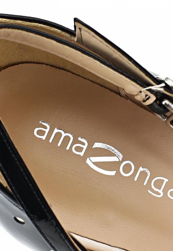 фото Туфли на платформе и шпильке Patrol (Amazonga) PA082AWBPQ64, черные