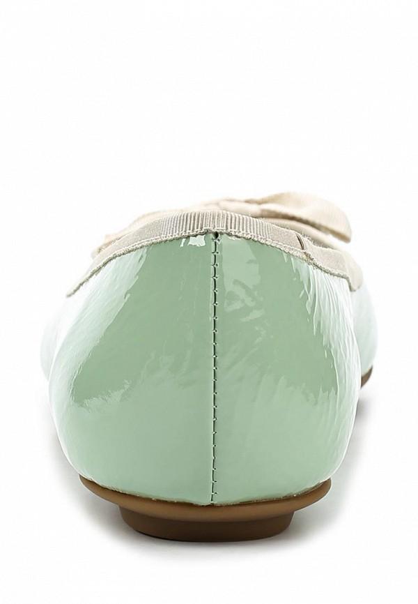фото Балетки на каблуке Paolo Conte PA743AWAZS71, нежно-зеленые (лак. кожа)