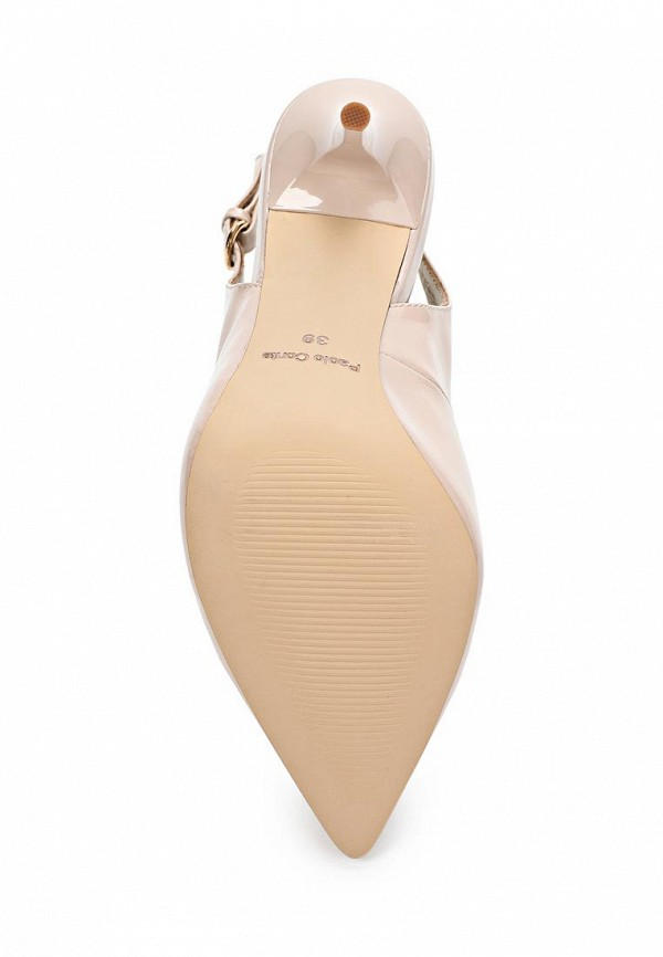 фото Туфли на шпильке Paolo Conte PA743AWBGN56, бежевые без задников