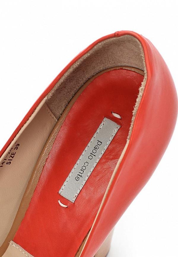 фото Туфли на платформе и толстом каблуке Paolo Conte PA743AWBGN62, красные