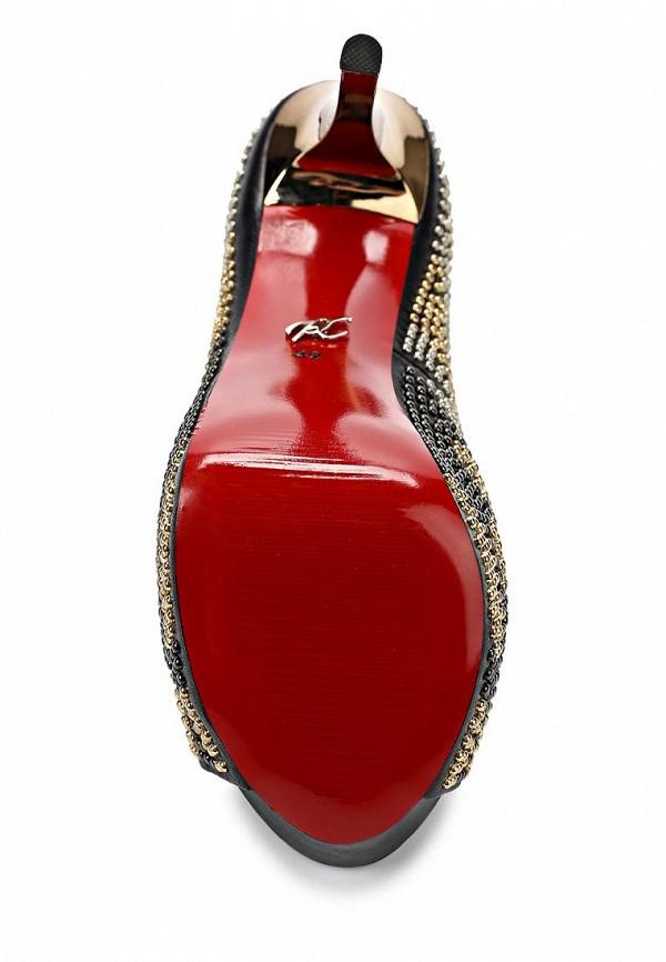 фото Туфли на платформе и шпильке Paolo Conte PA743AWBGN65, черные со стразами