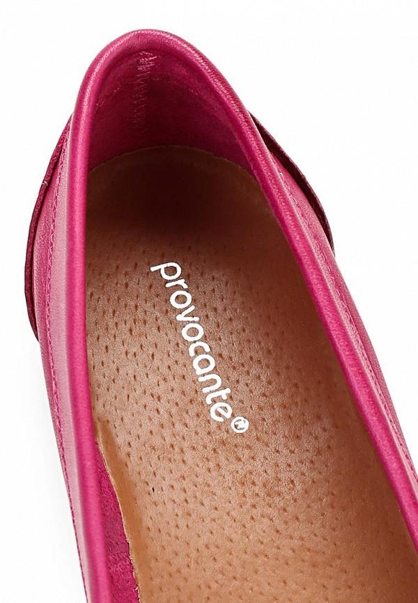 фото Мокасины женские Provocante PR083AWBLS09, розовые