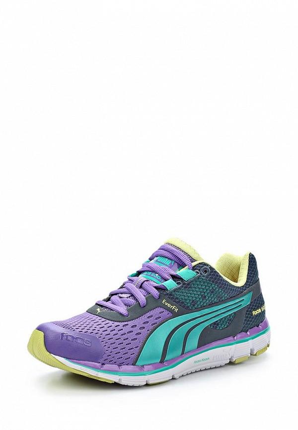 фото Кроссовки женские Puma PU053AWAGR03, фиолетовые/мультицвет