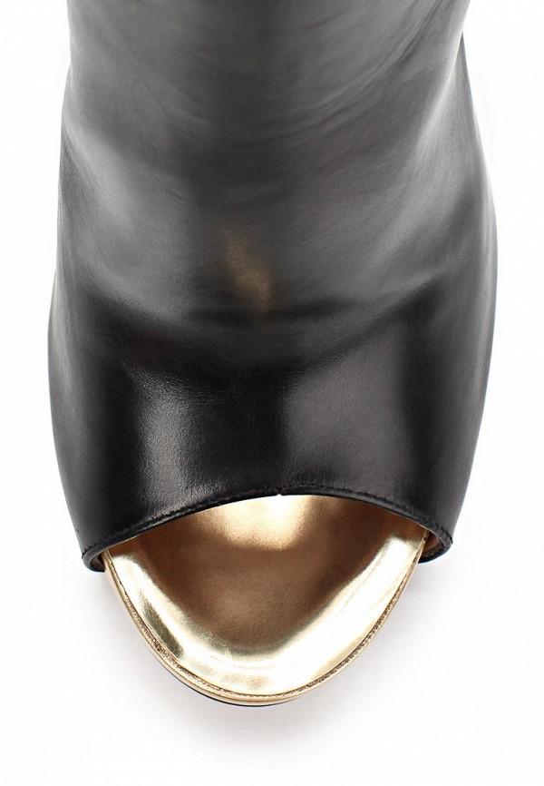 фото Ботильоны на шпильке с открытым носом Pura Lopez PU761AWAMG12, черные