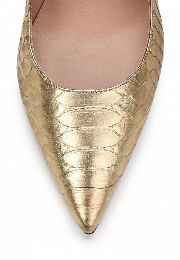 фото Туфли женские на каблуке Pura Lopez PU761AWAMG14, золотые