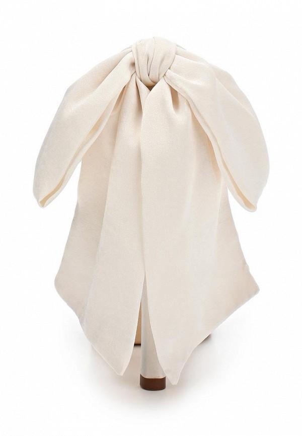 фото Туфли на платформе Pura Lopez PU761AWAMG33, белые свадебные