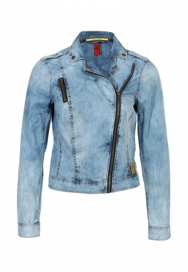 Куртка джинсовая QS by s.Oliver QS002EWBNX92. Цвет: голубой