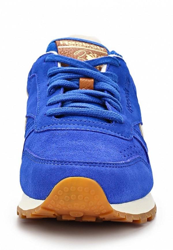фото Кроссовки женские Reebok Classics RE005AWASQ95, синие
