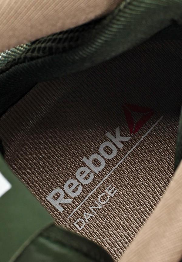 фото Кроссовки женские Reebok RE160AWBKC16, зелено-золотые