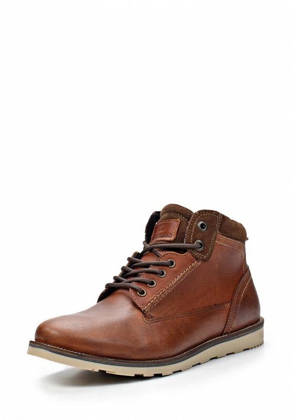 Ботинки Мужские Коричневый