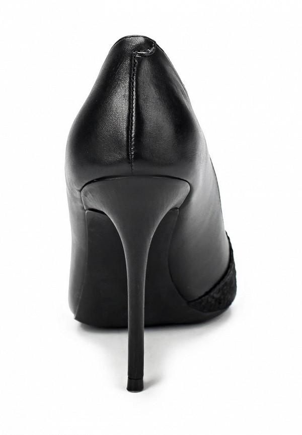 фото Туфли на шпильке River Island RI004AWCKA39, черные кожаные