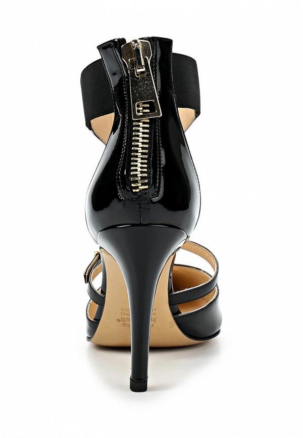 фото Женские туфли на каблуке Roberto Botticelli RO233AWAHX39, черные лаковые
