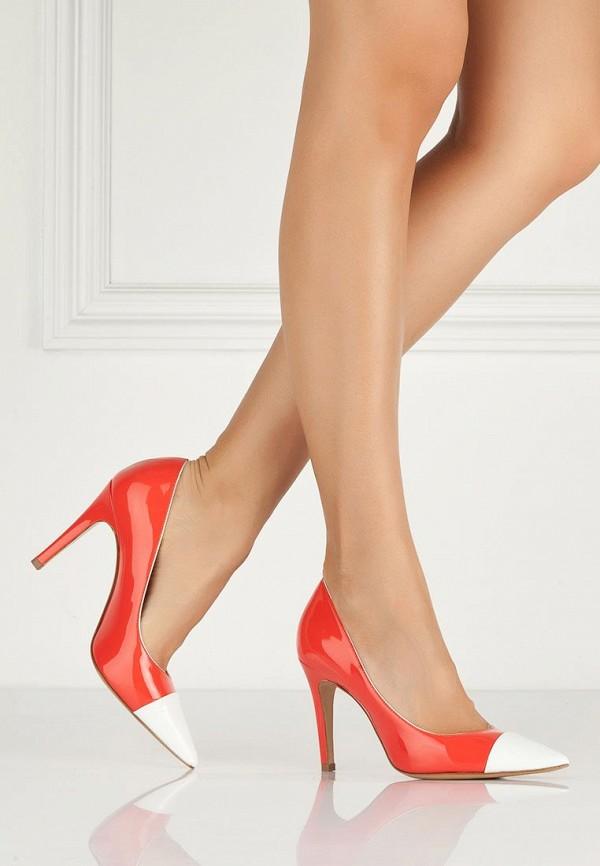 фото Женские туфли на каблуке Roberto Botticelli RO233AWAHX47, красные лаковые