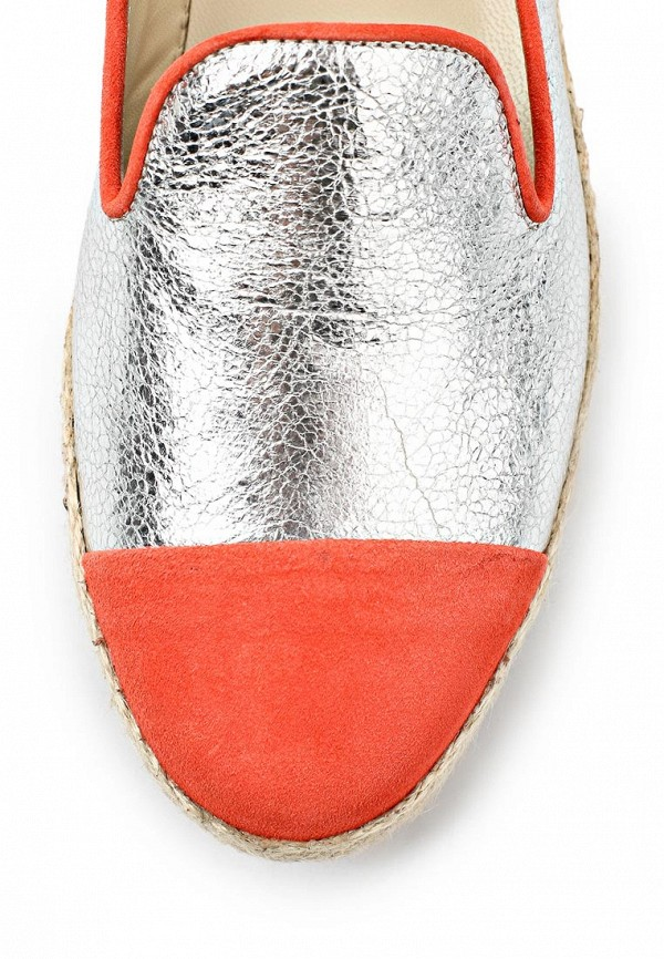 фото Эспадрильи женские Roberto Botticelli RO233AWAHX73, серебряные/оранж.