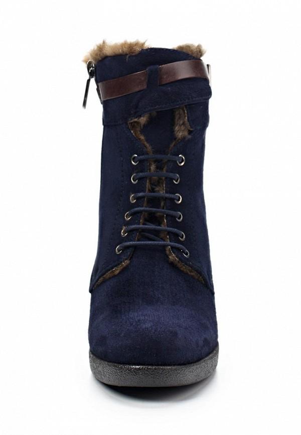 фото Ботильоны на толстом каблуке Samsonite SA001AWIN667, темно-синие