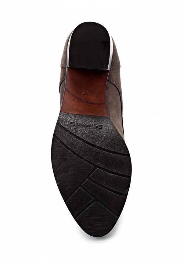 фото Ботильоны на толстом каблуке Samsonite SA001AWIN711, коричневые