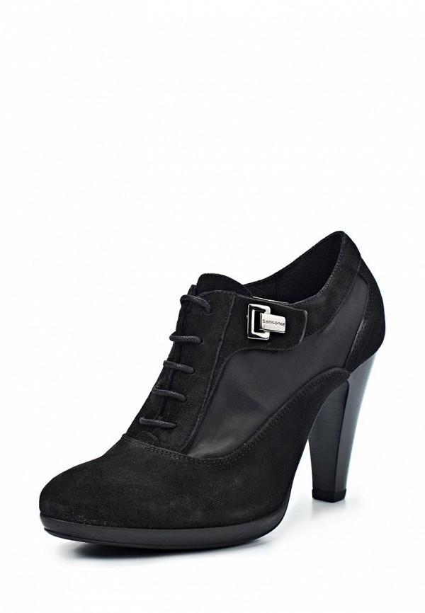 фото Ботильоны женские на каблуке Samsonite SA001AWIN726, черные