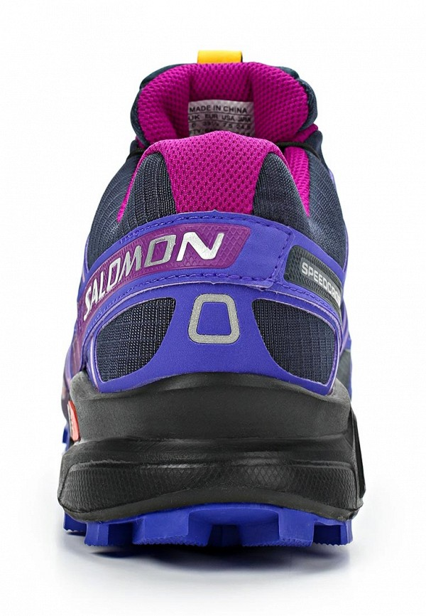 фото Кроссовки женские Salomon SA007AWBWP67, фиолетово-серые