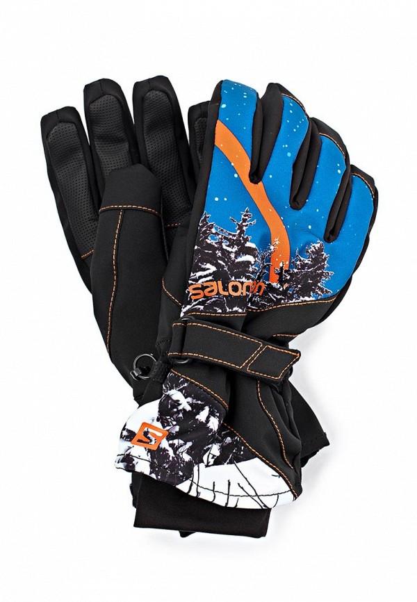 Перчатки Salomon SA007DMJR432. Цвет: черный