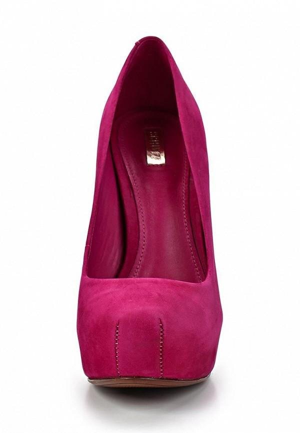 фото Туфли на платформе и каблуке Schutz SC963AWCMO24, розовые замшевые