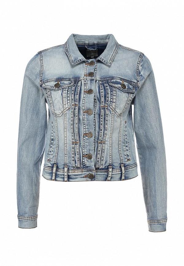 Куртка джинсовая Selected Femme SE781EWLW194. Цвет: синий