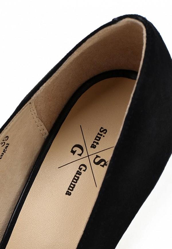 фото Туфли на платформе и каблуке Sinta SI293AWBDE17, черные с открытым носом