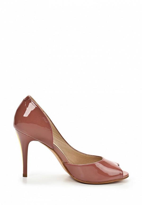 фото Туфли на каблуке Clotilde SI293AWBDE24, коричневые (лаковая кожа)