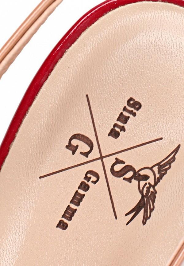 фото Босоножки на высоком каблуке Sinta SI293AWBDE43, бежевые