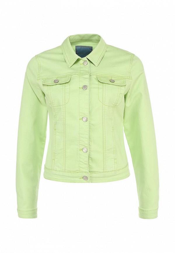 Куртка джинсовая Silvian Heach SI386EWHD129. Цвет: зеленый