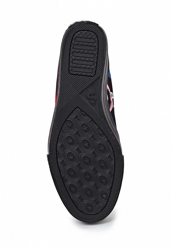 фото Кеды женские Skechers SK261AWFI082, черные/мультицвет