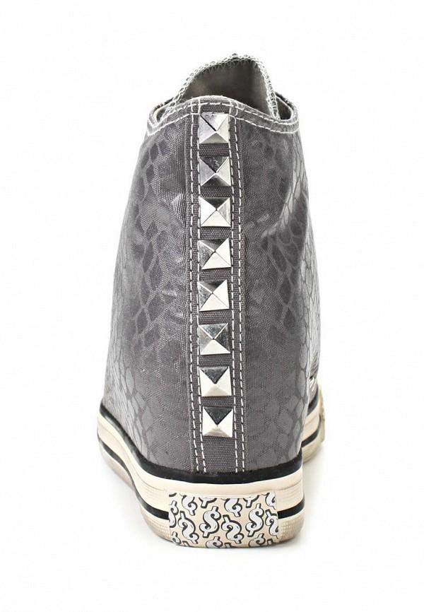 фото Кеды женские Skechers SK261AWLL855, серого цвета