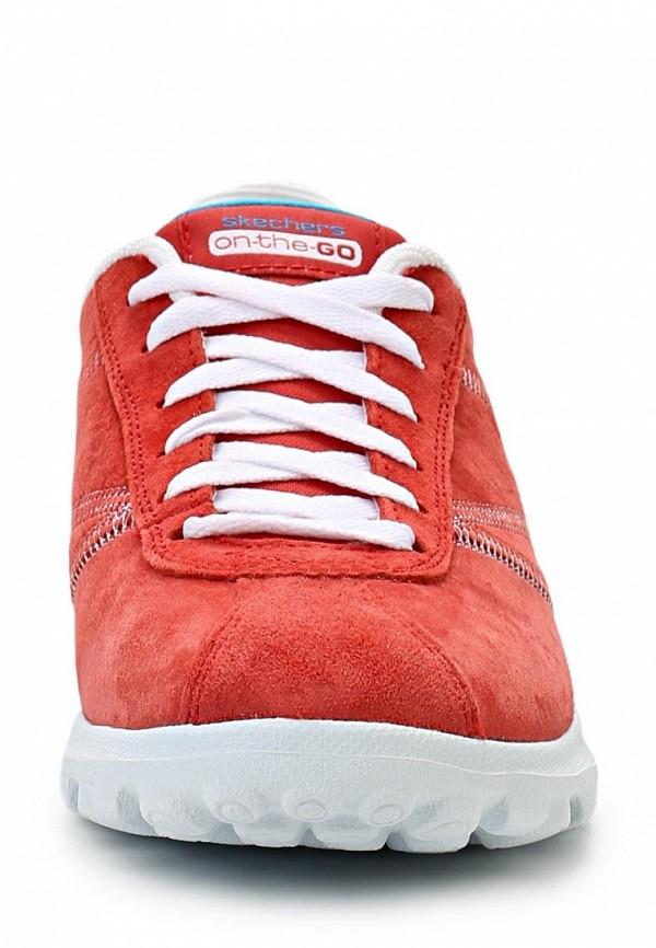 фото Кроссовки женские Skechers SK261AWLU675, красные