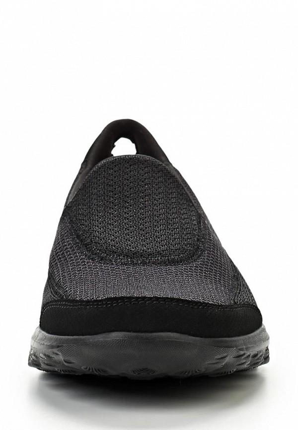 фото Слипоны женские Skechers SK261AWLU694, черные