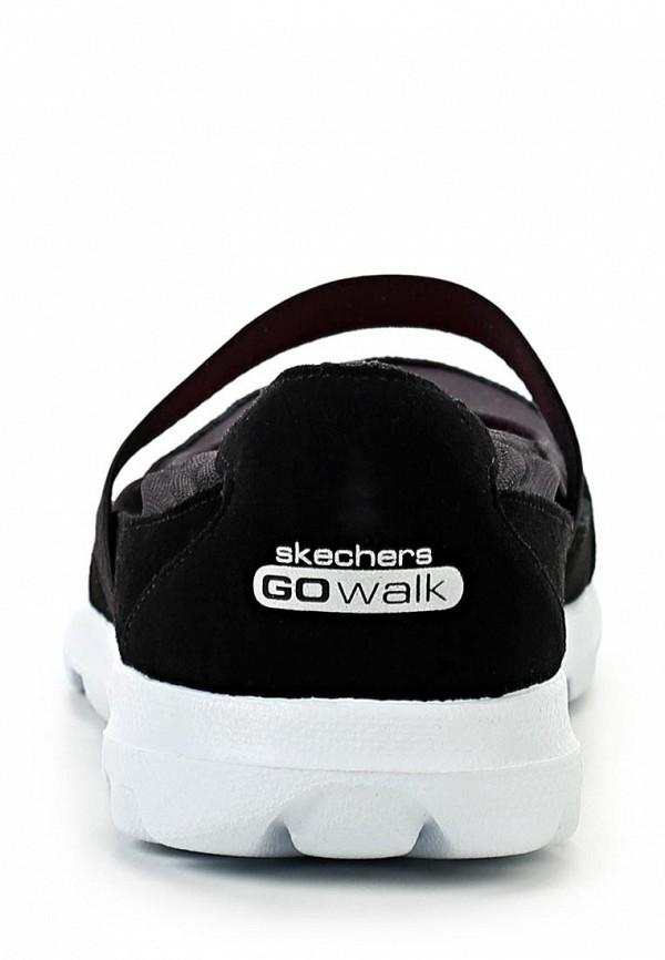 фото Слипоны женские Skechers SK261AWLU711, черные