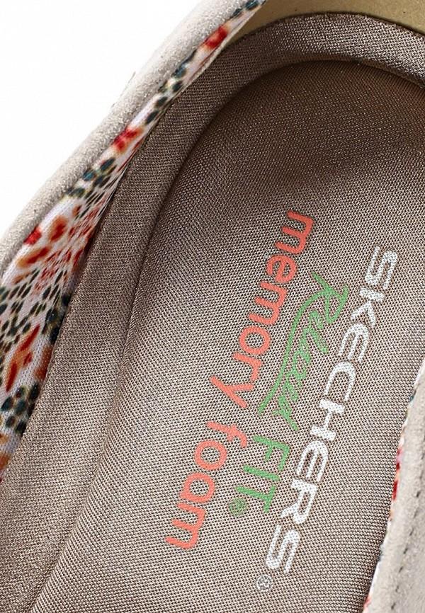 фото Мокасины женские Skechers SK261AWLU721, серые